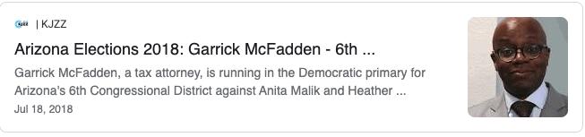 Activist Garrick McFadden